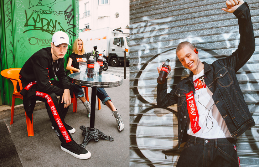 Diesel and Coca-Cola The (Re)Collection 2019 Campaign