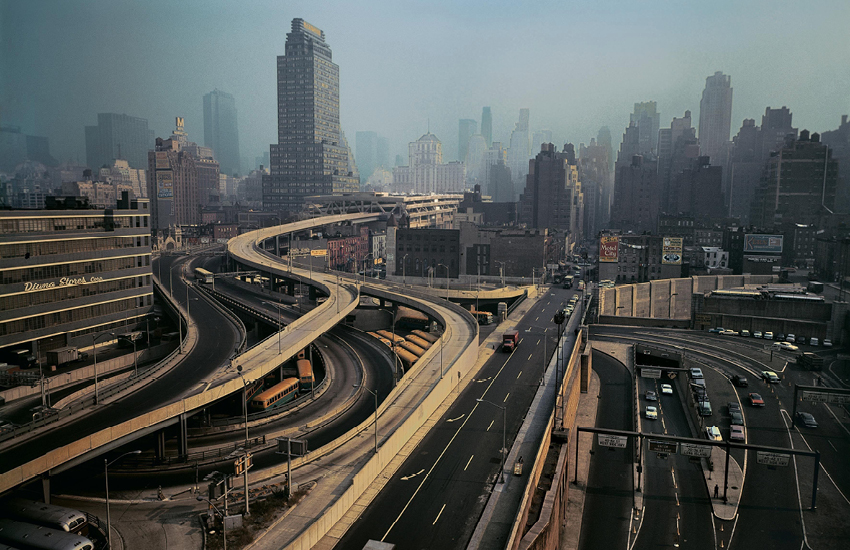 New York by Evelyn Hofer