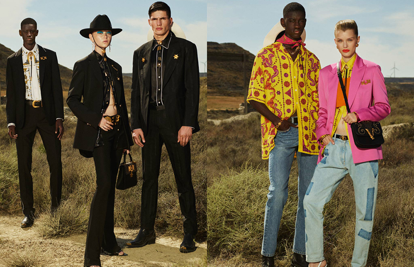 Versace Spring/Summer 2020 Campaign