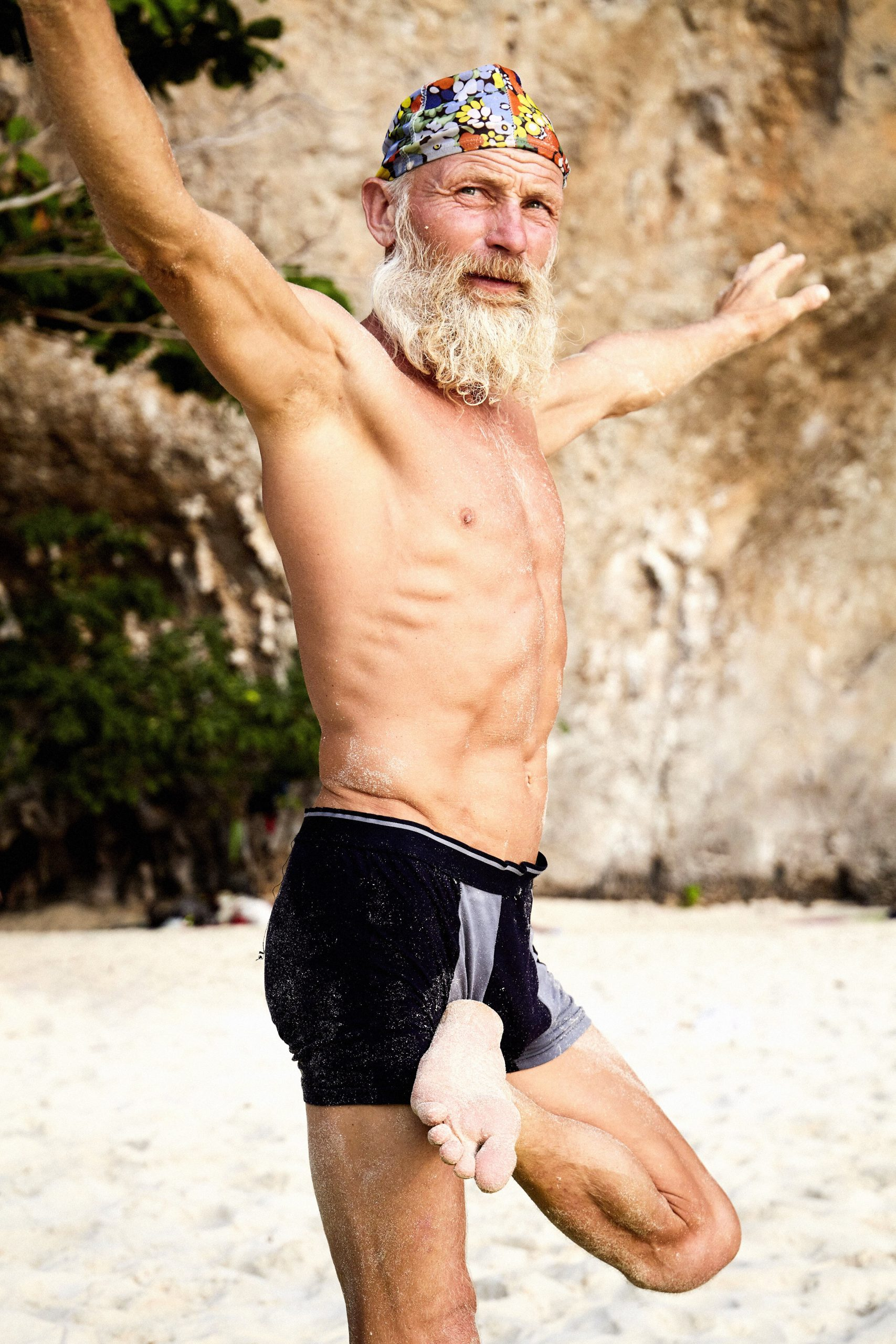 the old beach yogi