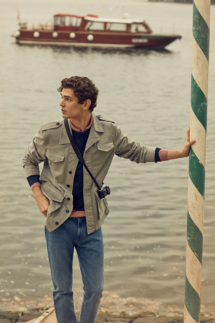 Arthur Goose for Brookfield's SS20 campaign
