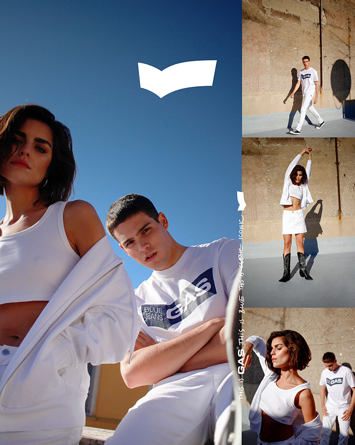 GAS SPRING SUMMER 2020 CAMPAIGN collage